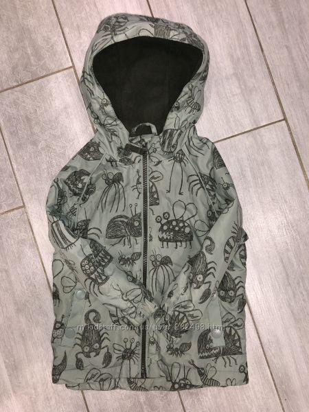 Идеальная курточка , ветровка с забавными насекомыми TU 1-1. 5 года