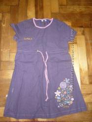Новое платье сарафан 1-3 года 92-98 см хлопок