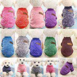 Кофта, свитер, кофточка для собак котов мини щенков йорка сфинкса чихуа