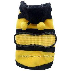 Пчёлка Флисовая пчела для всех собак котов  Курточка кофта