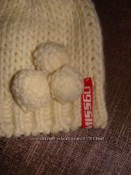 фирменная шапка Miss Sixty шерсть