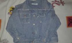 Стильная джинсовая курточка на мальчика