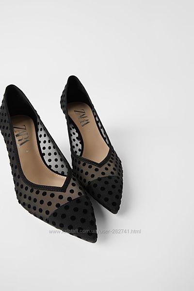 Туфли, лодочки Zara