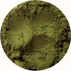 Матовые минеральные тени. Оливковые оттенки