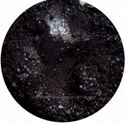 Минеральные тени-шиммер. Черно-белые оттенки