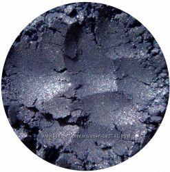 Минеральные тени-шиммер. Синие оттенки