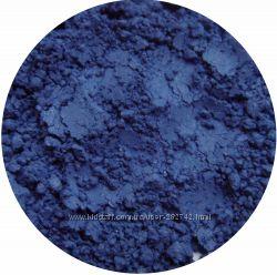 Матовые минеральные тени. Синие оттенки