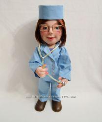 Кукла врач, доктор, медсестра