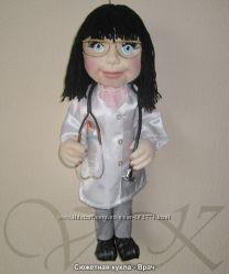 Кукла ВРАЧ, медработник