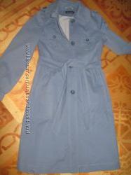 Легка довга синя куртка TOPSHOP