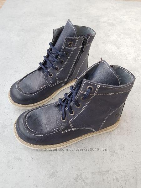 Демисезонные кожаные ботинки MELANIA р. 30, Италия