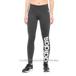 Спортивные черные лосины adidas Fab Linear Tights р-р S