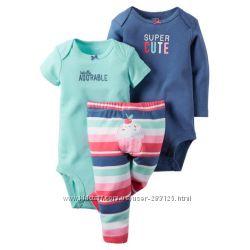 боди  и штанишки для девочки Веселлые попки