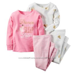 цена за 2 пижамы или домашняя одежда картерс 1, 5- 3 лет