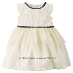 платье нарядное для девочки 3-18м США