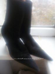 Замшевые ботиночки Италия