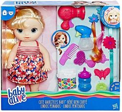 кукла Baby Alive Cute Hairstyles Baby