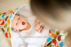 Эксклюзивный конверт-кокон на выписку для малышей