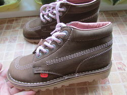 ботинки Kickers для девочки кожа длина по стельке 23 см оригинал