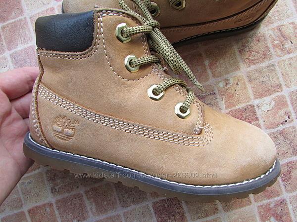 ботинки детские Timberland кожа длина по стельке 16,5 см оригинал
