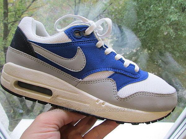 кроссовки детские Nike Air Max 1 унисекс длина по стельке 23 см