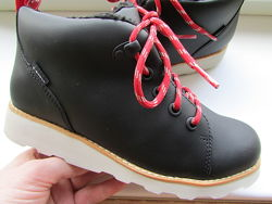 ботинки оригинальные Clarks Crown детские кожа длина по стельке 21 см