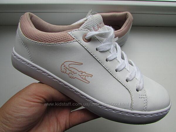 кеды кроссовки оригинальные Lacoste длина по стельке 20,5 см
