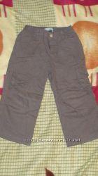 Штаны на хб подкладке Debenhams 18-24 мес 92 см