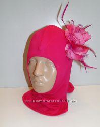 Продам демисезонные трикотажные двухслойные шлемы модель Цветок