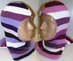 Продам теплые зимние шлемы двухслойные Модель Сиреневая дымка