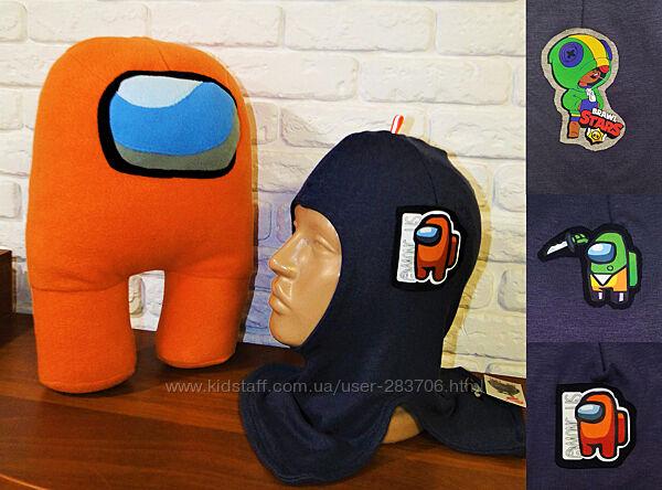 Продам демисезонные трикотажные шлемы модель Космонавт Амонг Ас Among Us