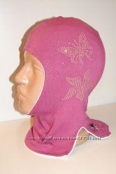 Продам демисезонные трикотажные двухслойные шлемы модель Цветочный луг