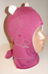 Продам демисезонные трикотажные двухслойные шлемы модель Кошечка