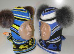 Продам  демиcезонные и теплые зимние шлемы двухслойные Модель  Машинки