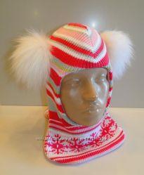 Продам теплые зимние и деми-еврозима шлемы двухслойные Модель Снежинка