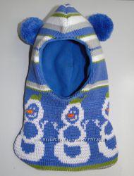 Продам теплые зимние и деми-еврозима шлемы двухслойные Модель Снеговичок