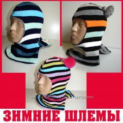 Продам демиcезонные и теплые зимние шлемы двухслойные Модель Stripe