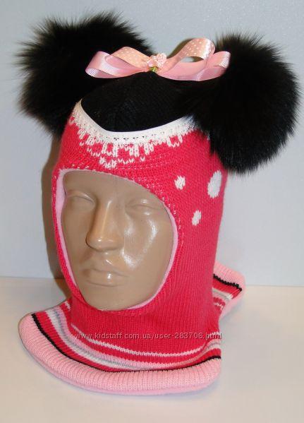 Продам теплые зимние шлемы двухслойные Модель Минни