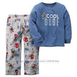 Флисовые пижамы Carters
