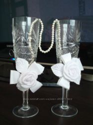 бокалы для жениха и невесты