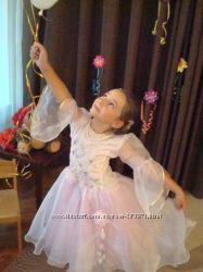 Прокат розового платья для девочки 5-7 лет, Киев