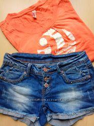 Отличные джинсовые шорты.