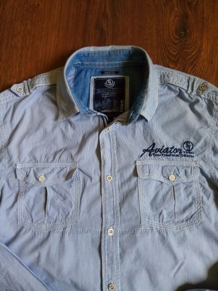 Фирменная мужская рубашка Tom Tompson