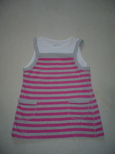 Детская футболка Mothercare для девочки. р. 122.
