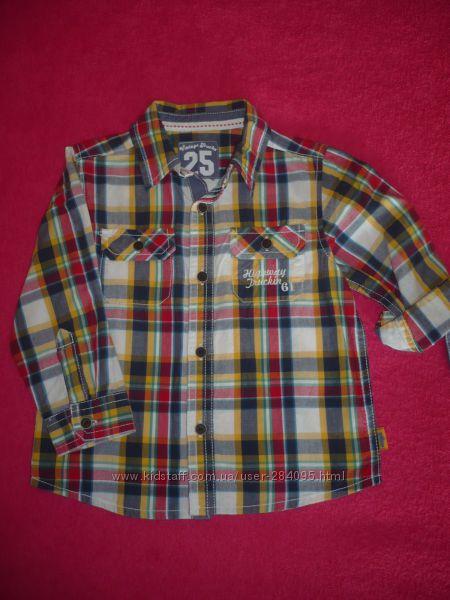 Детские рубашки Mothercare.