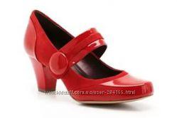 Новые кожаные туфли Clarks Alpin Clover  р. 36, 5  Кларкс