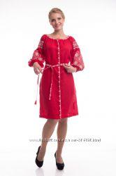 Шикарна сукня з вишивкою