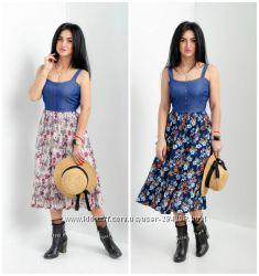 Эксклюзивное платье-сарафан мод. 268н р. 42, 44, 46, 48