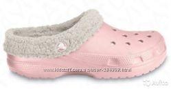 Сабо сандалии утепленные Crocs 10-11 размер  27-28 размер по стельке 17см