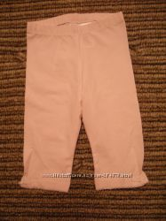 Колготки и штаники, капри H&M  для девочки р. 74-80